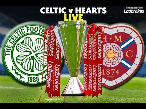 CELTIC VS HEARTS DI LIGA SKOTLANDIA