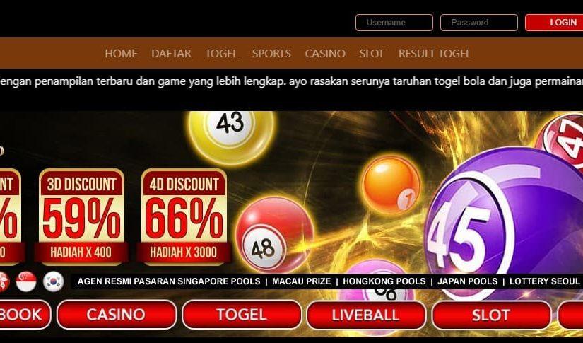 Mainkan Pasaran Togel Resmi Terbaik Hanya Di Situs Dewi4d