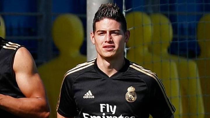 Madrid Siap Pertahankan James di Santiago Bernabeu